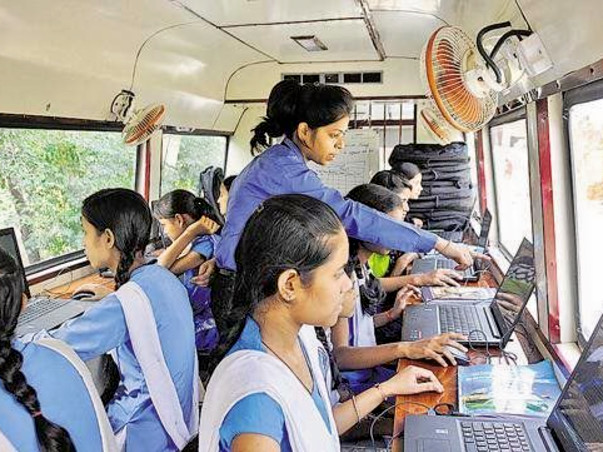 Computer Education To Unprivileged Children