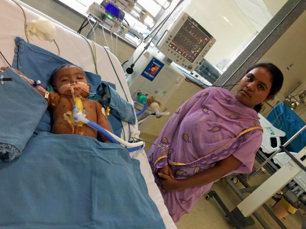 Divya's Little Baby Struggles To Breathe And Needs Our Help