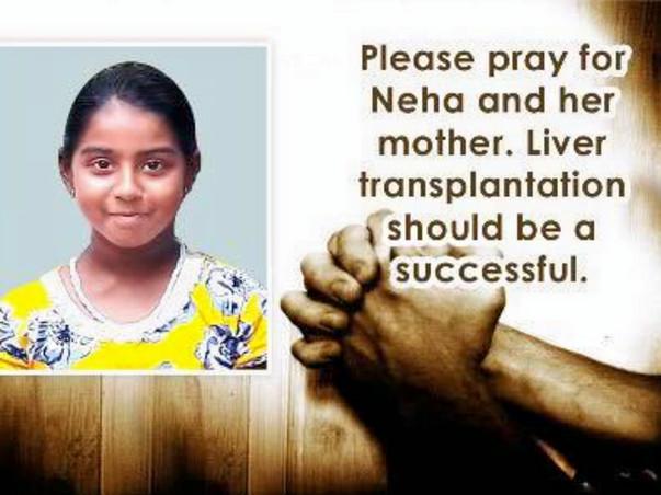 Help Neha Undergo A Liver Transplant