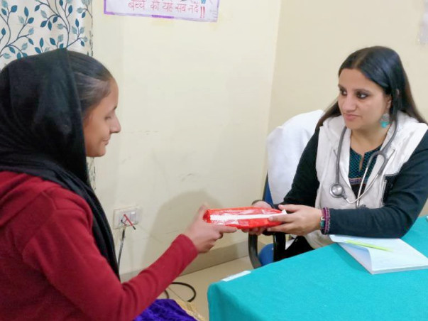 Project Befikar: Help Poor Women with Sanitary Napkins