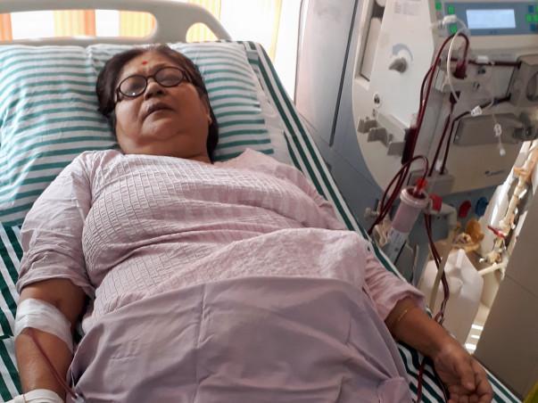 Help My Mother Sakuntala Adhikary Fighting Kidney Problems