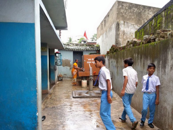 Help build sanitation facilities in school for underprivileged kids