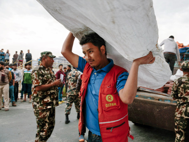 We are fundraising to support Oxfam India towards their relief efforts for earthquake survivors in Nepal