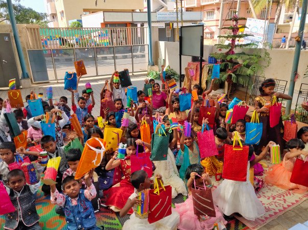 Support Children's at Jeevitha Home