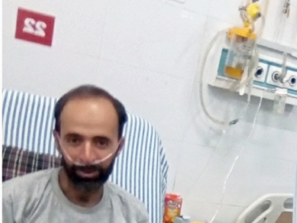 Fight for cancer.support pervaiz..he needs ur help..give him a life