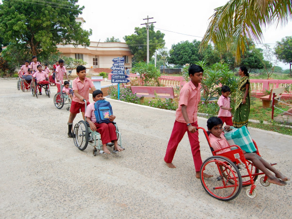 Higher secondary education for Special needs children