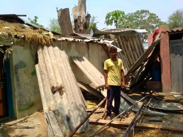 Help Ananta Build A Shelter For Cyclone Fani Victims
