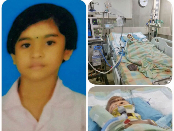 Help Dhaniya shree (4years) treatment