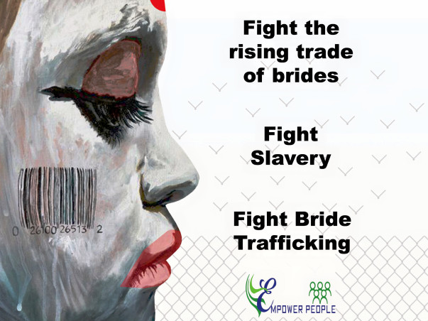 March against bride trafficking with MABT2018