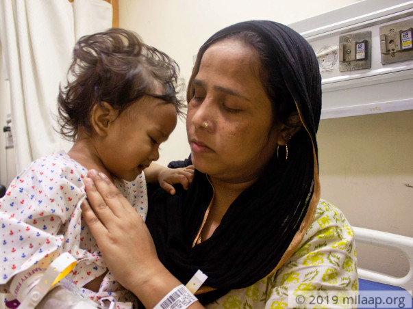 2-Year-Old Who Underwent High-Risk Surgery For Liver Tumour Needs Help