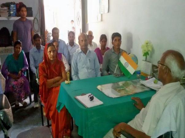 Education support in slum area in Saharanpur, uttar pradesh, India