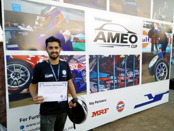 Help Rajat represent India at Volkswagen Ameo Cup 2017