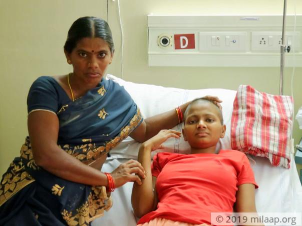 Help Sravani Recover From Rhabdomyosarcoma Of Right Calf
