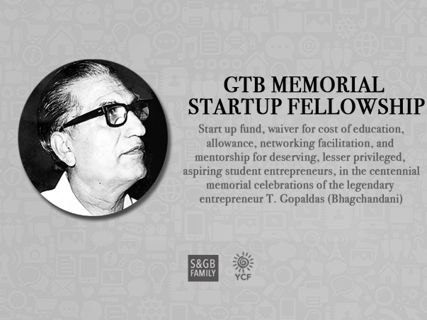Contribute to the GTB Memorial Startup Fellowship