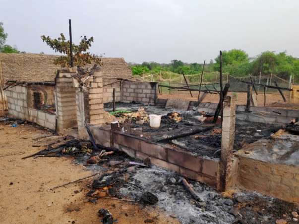Help myHarvest team rebuild the farm (damaged by fire)
