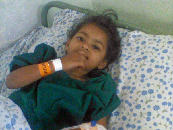 Help Little Sonu Fight Cancer
