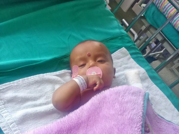 Support 5 Months Old Shambhav Gupta Fight Kidney Problem.