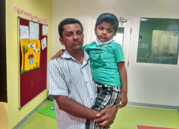 Help 5-year-old Keerthana fight a severe brain tumor