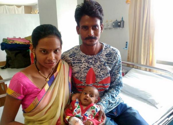 Help 3-month -old Kundan fight a severe heart disease