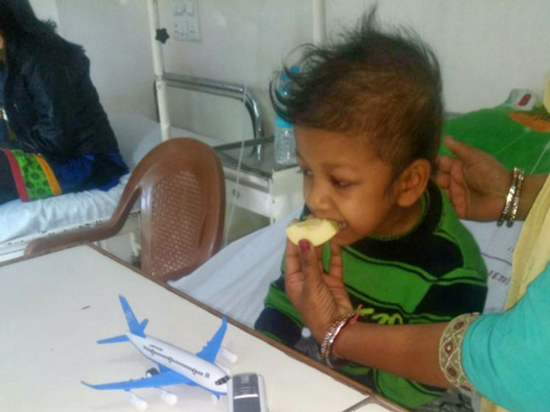Please Help My Baby Arpan For A Bone Marrow Transplant