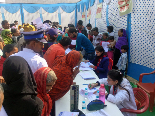 FREE HEALTH CAMP AND MEDICINES
