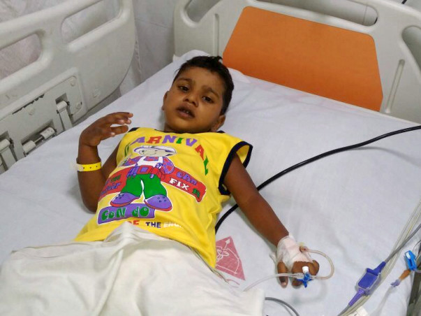 Help 3-year-old Zahim fight cancer