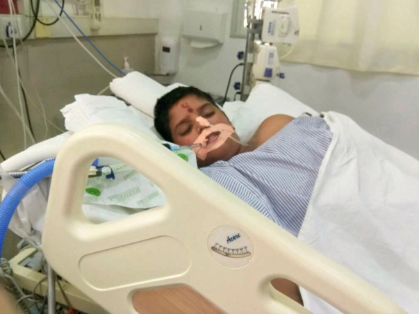 Help 12-year-old Karthik who is in a critical state in the ICU