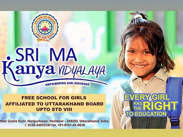 Help Rural Girl Children receive Education for Free.