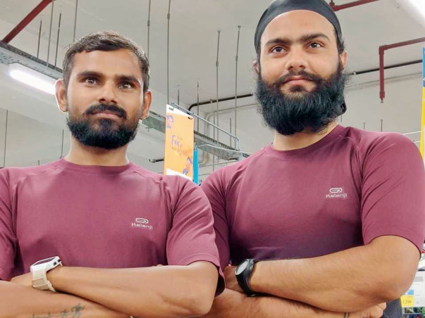 Support Gurpal Singh & Samod Kumar Run for Soldiers.