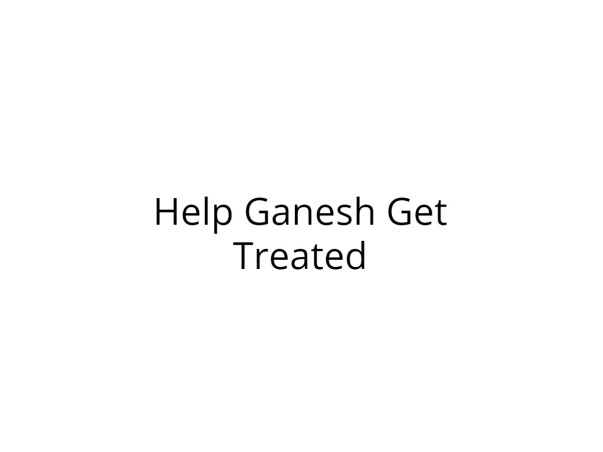 Help Ganesh Get Treated for Breathing Problem