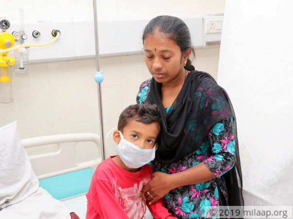 Chandan needs your help to undergo his treatment