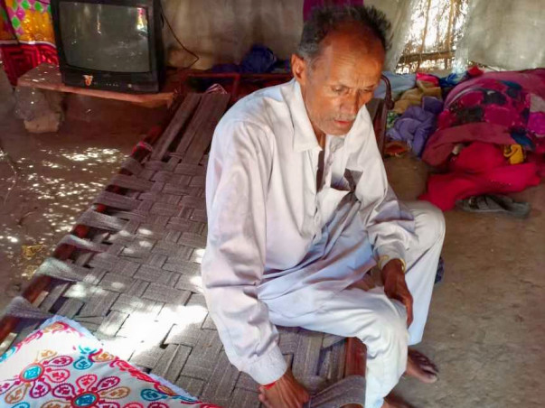 Support Luna ram 62 years old to recover from asthma and tuberculosis.