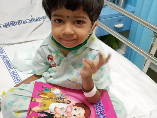 Support 3 Year Ritika  Undergo Bonemarrow Transplant