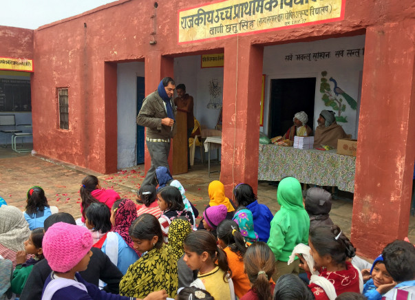 Help provide Quality Education to Government Schools in Villages
