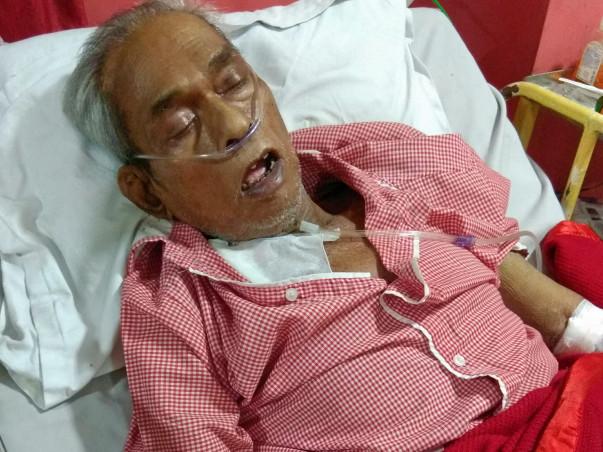 My father Kinkar Nath Dey fight against CKD