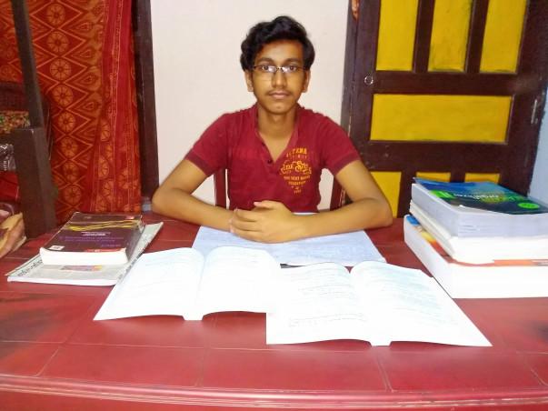 Help Debmalya Complete His Education