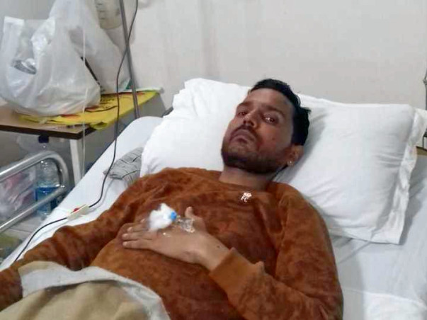 Save Deepak fight hematuria blood disorder and 90% intestine removed
