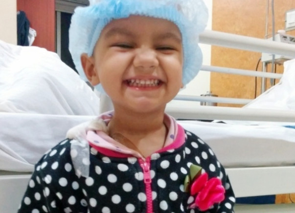 I am fundraising to appeal to Aid Ridhi to treat Cancer...join hands to save little Ridhi!!