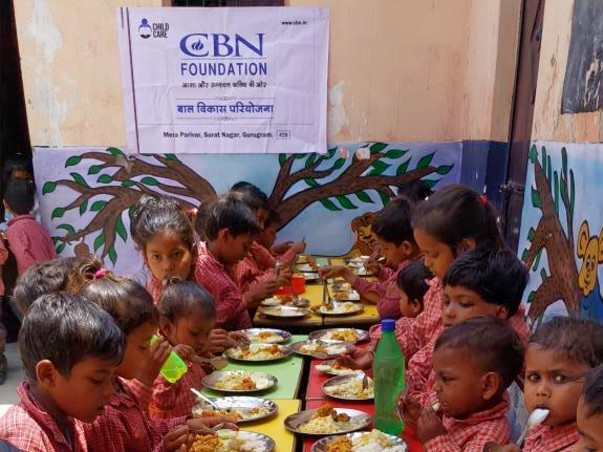 Sponsor Nutritious Meal for Children
