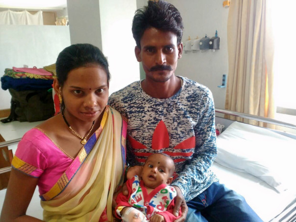 Help 3-month -old Kundan fight a severe heart disease