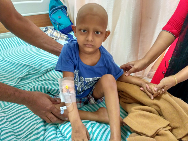 Help Baby Younus undergo a bone marrow transplant.