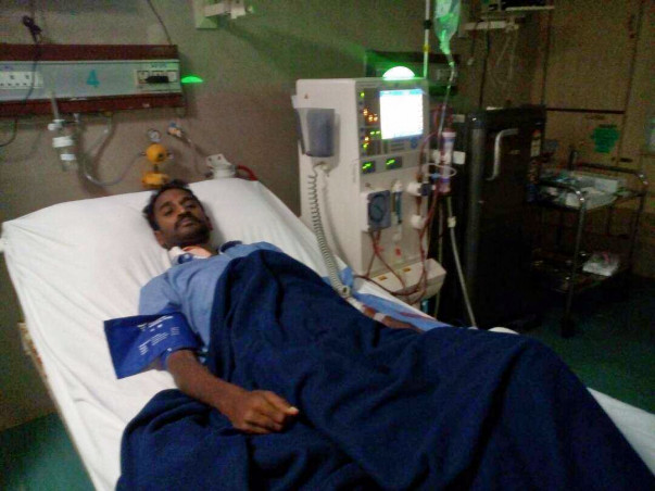 "HELP OUR FRIEND ""BHARAN KUMAR KAGITHA"" OVERCOME KIDNEY TRANSPLANTATION"