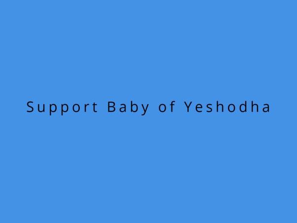 Support Baby of Yeshodha