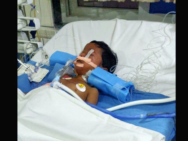 Nadeem Met With An Accident. Please Help Save Him!