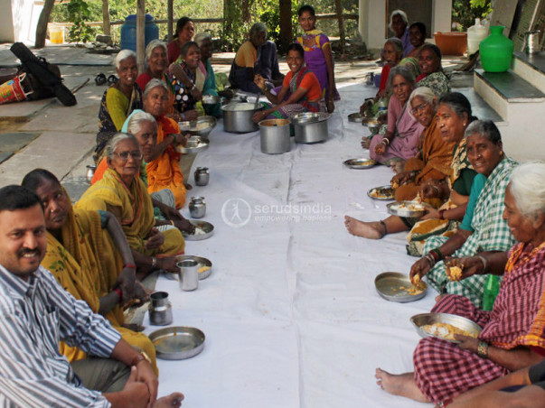 Sponsor Nutritious Meals For Destitute Elderly Persons