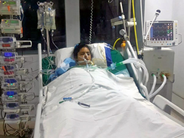 Help Sharifa who is fighting for her life in the ICU