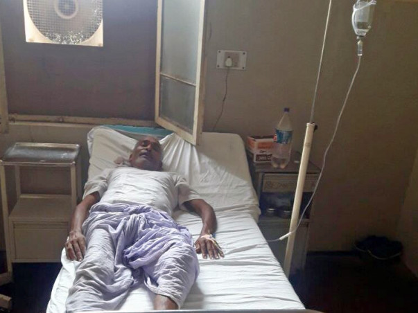 Help Shiv Shankar Patel, a Poor Farmer Undergo Cancer Treatment