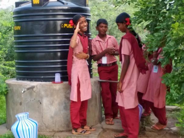 Provide Water To Students In Savariyar Pattanam