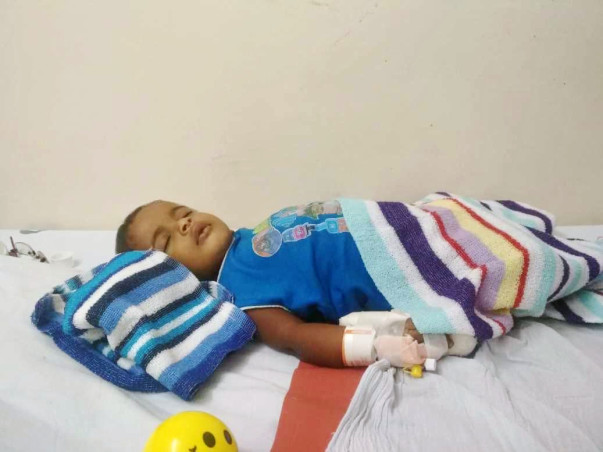 Save a Child Life (1yr old) who is Fighting with Cancer