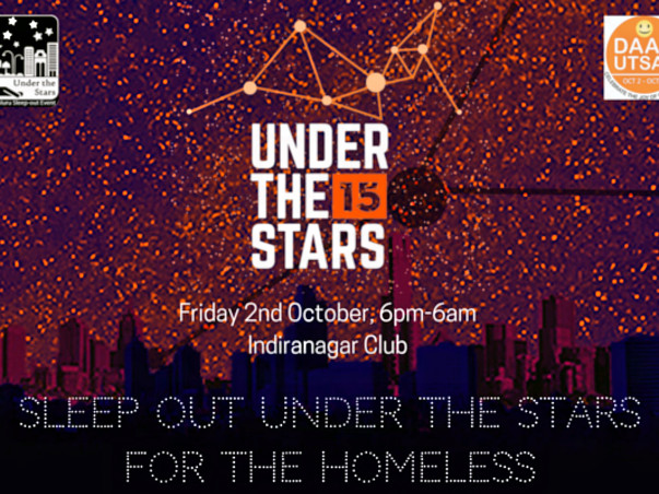 Joy of Living One Night Under the Stars to Support the Homeless